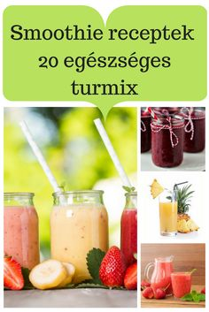 Neked melyik lesz a kedvenced? Smoothie Fruit, Green Detox Smoothie, Healthy Green Smoothies, Raspberry Smoothie, Healthy Drinks, Healthy Snacks, Healthy Recipes, Smoothie Blender, Smoothie Cleanse
