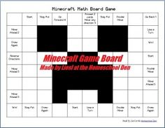 MinecraftGameBoard2-Example