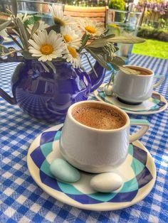 Kahve sunumu