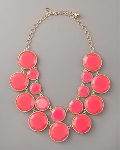 love this bubble necklace.