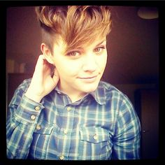 "I literally have to look up ""lesbian hairstyles"" to get the look I want. :-/"