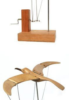 Kinetic Toys, Kinetic Art, Marble Machine, Weather Crafts, Wooden Bird, Wood Plans, Wood Toys, Wood Sculpture, Wood Art
