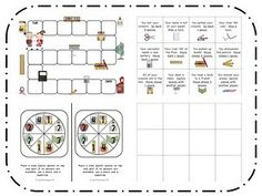 A cute school game with printables