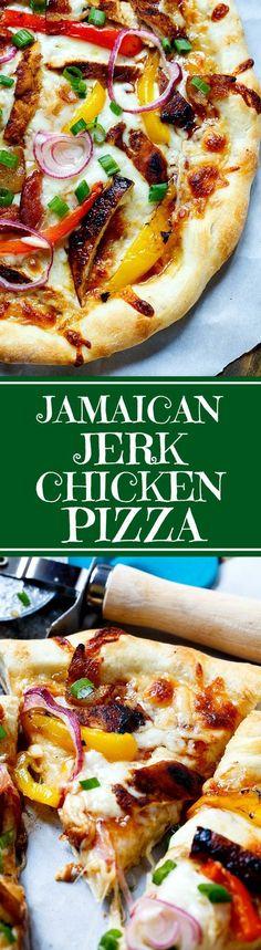 Jamaican Jerk Chicken Pizza (California Pizza Kitchen Copycat)