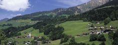 The untouched Grosses Walsertal valley in Vorarlberg