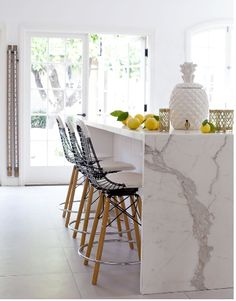 kitchen marble - Vibrance and Chaos