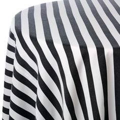 Black and White tablecloth