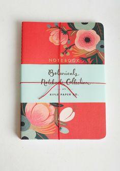 Botanicals Notebook Collection via Ruche {as seen on Design Wonderland}