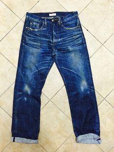 Denim washes, man made of vintage inspiration #denimJeans #vintage #workwear #lifestyle #talent #performance