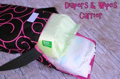 Diapers and Wipes Case by CrazyLittleProjects.com