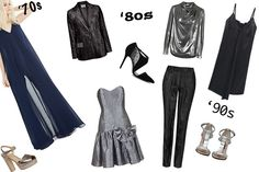 Vintage Style Partywear: 1970s-1990s