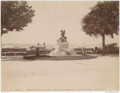 Passeggiata del Pincio, monumento Fratelli Cairoli Circa 1875