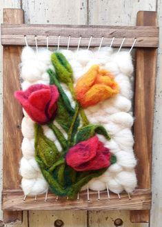 Textile Fiber Art, Felt Baby, Loom Weaving, Punch Needle, Art Education, Needle Felting, Macrame, Needlework, Textiles
