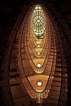 architecturia: Staircase at the Bri architecture is acitizen arts of love uniqueness (via ravenwhimsy)