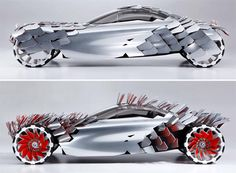BMW Solar Electric Luxury Concept Car - a perfect example of why 'concept' cars remain concepts if you ask me.