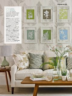 My botanical paper cut art prints are featured in the April 2014 edition of Country Homes & Interiors magazine. Available mounted and ready to frame from http://www.notonthehighstreet.com/partners/kitzieg/products