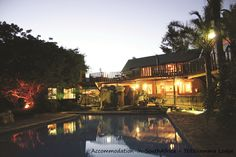 Beautiful evenings at Tsitsikamma Lodge & Spa. Accommodation at Storms River. Allure Spa, River Lodge, Mountain Range, Environment, Cabin, Mansions, Storms, House Styles, Building