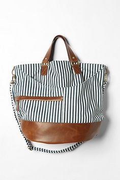 Cooperative Canvas Bucket Bag