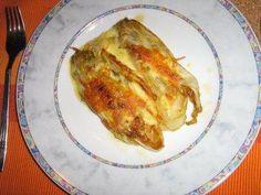 Rezept: Chicorée in Honig gebraten und gratiniert