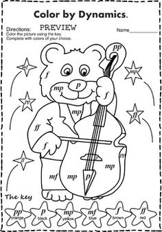 music coloring sheets color by note halloween pinterest elementary music math and students