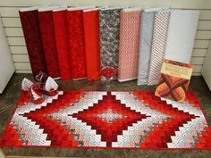 Twist-and-Turn Bargello Quilts by: Eileen Wright  Sample made by: Expressions in Fibre Inc. PO Box 914, Sechelt, B.C. V0N 3A0  Martingale & Company