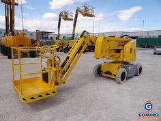HAULOTTE HA12IP Articulated boom lift. Year: 2005. Height: 12m. (Gomariz Sistemas de Elevación)