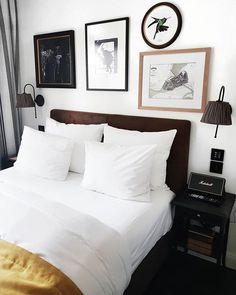 When your hotel room in Hamburg looks like this.and you never want to leave this bed Girl Photography, Amsterdam, Bedrooms, Furniture, Design, Home Decor, Hamburg, Decoration Home, Room Decor