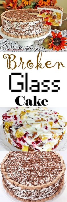 This beautiful cake can be made any season colors. It always goes over well, especially with kids but adults love it too.