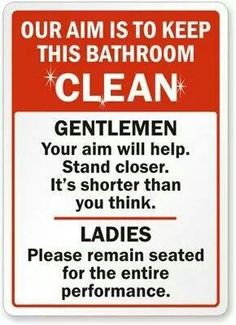 Bathroom Signs To Clean Up After Yourself wall decals clean up after yourself vinyl quotesdecalsmurals