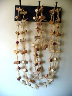 Items similar to Rustic cork garland wedding decoration repurposed winery backdrop eco-friendly upcycled on Etsy Christmas Wine, Rustic Christmas, Cork Garland, Champagne Corks, Garland Wedding, Wedding Decorations, Cork Crafts, Farmhouse Chic, Rustic Wedding