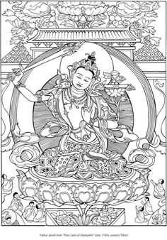 Creative Haven Tibetan Designs Coloring Book from Dover