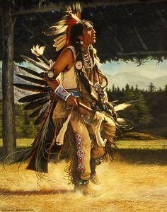 Native American Painting - Dance Of His Fathers by Greg Olsen Native American Paintings, Native American Pictures, Native American Quotes, Native American History, Indian Paintings, Native Quotes, Native American Artists, Greg Olsen Art, American Indian Art