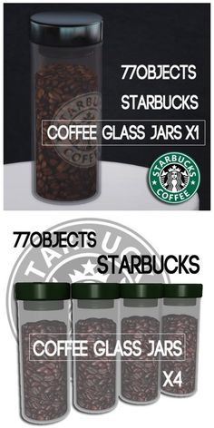 Starbucks Set by 77objects for Sims 3