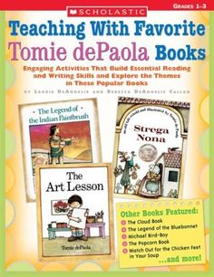 Teaching with Favorite Tomie dePaola Books by Laurie DeAngelis, http://www.amazon.com/dp/0439262429/ref=cm_sw_r_pi_dp_iKsgrb0GBMW9M
