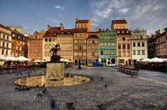 Old Town. Warsaw. Warsaw Mermaid