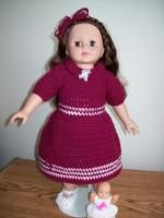 "Remember the Day- 18"" doll - Free Original Patterns - Crochetville"