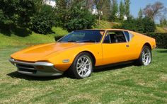 The 1973 De Tomaso Pantera is a popular sports car that is also a muscle car. De Tomaso released this car in 1971 and they manufactured for the next two decades. They delivered the last Pantera to a customer in 1992. In total, they produced 7,000 Panteras.