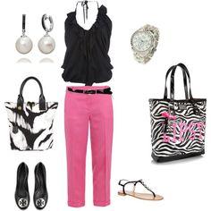 Cute Lipsy zebra shopping bag, created by pamela-barrett-williamson.polyvore.com