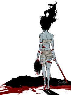 dead by daylight spirit Slice Of Life Anime, Horror Video Games, Horror Artwork, Zombie Girl, Fan Art, Michael Myers, Horror Movies, Horror Film, Fnaf