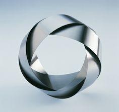 Eva Eisler   Mobius series, 2002, bracelet, stainless steel