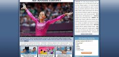 401: The overall sports focus of the CNN website was on US athletes. Only other story was on a multinational Olympic scandal. The female American Gymnast takes pole position on the page and is supported by a host of swimmers. On the whole, the average picture framing is neutral, notably the main story is positive boosting the moral for those supporting the 'home team'.