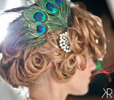 Soft-curls-updo-feathers-bridal-lexington-kentucky