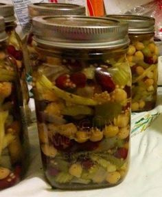 The Homestead Survival | Pickled Three Bean Salad – Canning Recipe | http://thehomesteadsurvival.com
