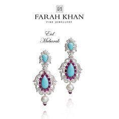 Eid Mubarak from Farah Khan Fine Jewellery @FarahKhanF #Eid #EidMubarak
