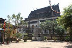 The pagoda Wat Bo in Siem Reap, Cambodia