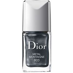 Dior Vernis Couture Colour Gel-Shine & Long-Wear Nail Lacquer (1,265 DOP) ❤ liked on Polyvore featuring beauty products, nail care, nail polish, makeup, nail, cosmetics, esmalte, m tal montaigne, christian dior nail polish and glossy nail polish