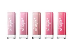 CoverGirl Colorlicious Oh Sugar $8.99 There's nothing sweeter than swiping on one of these adorable tinted lip balms. Available in ten shades (we're partial to Caramel and Candy), they drench lips with such ingredients as avocado butter and grape-seed oil and leave behind the subtlest, lip-enhancing hint of color.