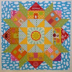 Tutorial: Little Swoon Houses block (from Blue Mountain Daisy)