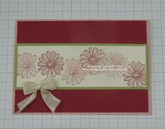 Best of Flowers, StampinUp!, Karten
