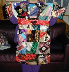 Another oriental crazy quilt. hmmm.